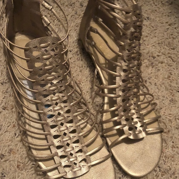 detailed images promo codes great quality me too Shoes | Metallic Gladiator Sandals | Poshmark